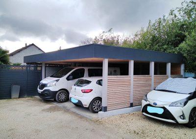 Cabanes Carport double