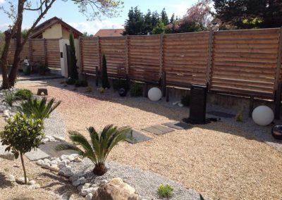 Etude personalisée Jardin zen
