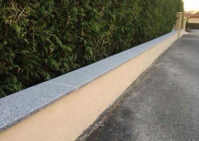 Murs et Murets Muret avec couvertine