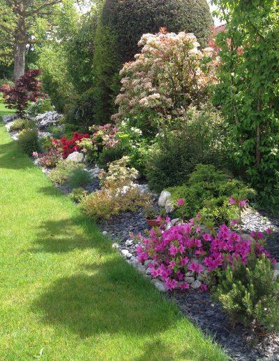 Réalisations Massif bordure de jardin